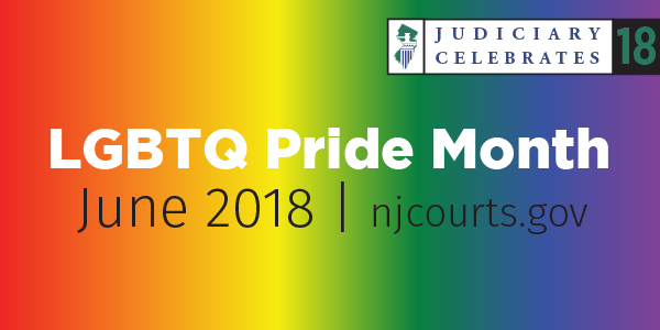 NJ Judiciary celebrates LGBTQ month