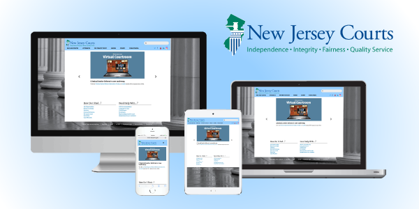 NJ Courts Web Redesign
