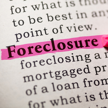 Elegant Dictionary Definition With Foreclosure Highlighted