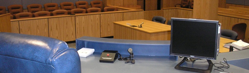 Interior Courtroom